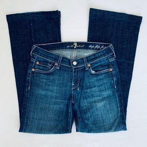 7 For All Mankind Dojo Flip Flop Jeans Size 24